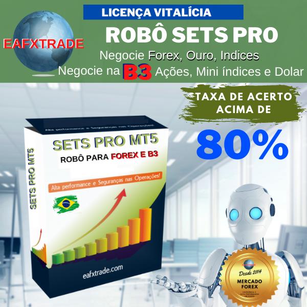 Licença Definitiva Robô SETS PRO MT5